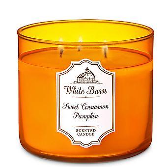 Weiße Scheune süße Zimt Kürbis duftende Kerze 14,5 Unzen / 411 g