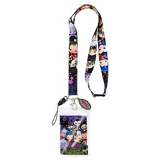 Lanyard - Disney - Villains Kawaii w/Soft Touch Dangle New 22929