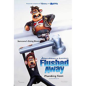 Flushed Away (Double Sided Advance) Affiche de cinéma original