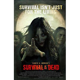Überleben der Toten Poster doppelseitig regelmäßig (2010) Original Kino Poster