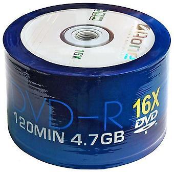 DVD-R AOne Logo mandrino/torta scatola di DVD registrabili di 50 dischi vuoti (16 X scrittura)