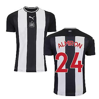 2019-2020 Newcastle Home Football Shirt (Kids) (ALMIRON 24)