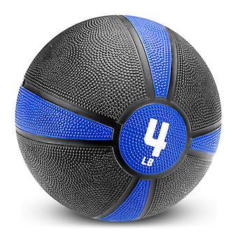 4lb Tuff Grip Rubber Medicine Ball