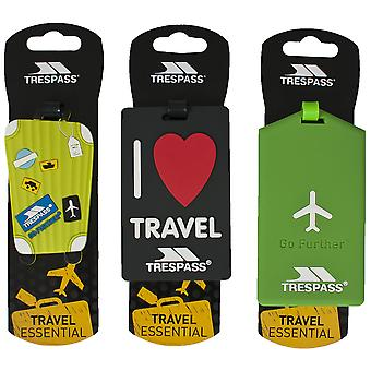 Trespass Traveltag Assorted Luggage Tag