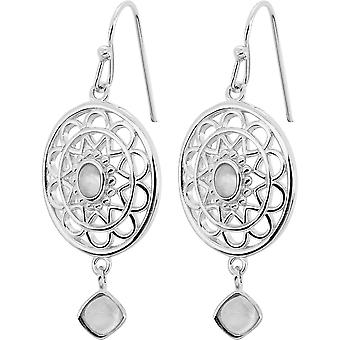 Stella Silver earrings - Pierre De Lune
