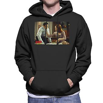 American Pie Jim And Michelle Men's Hooded Sweatshirt