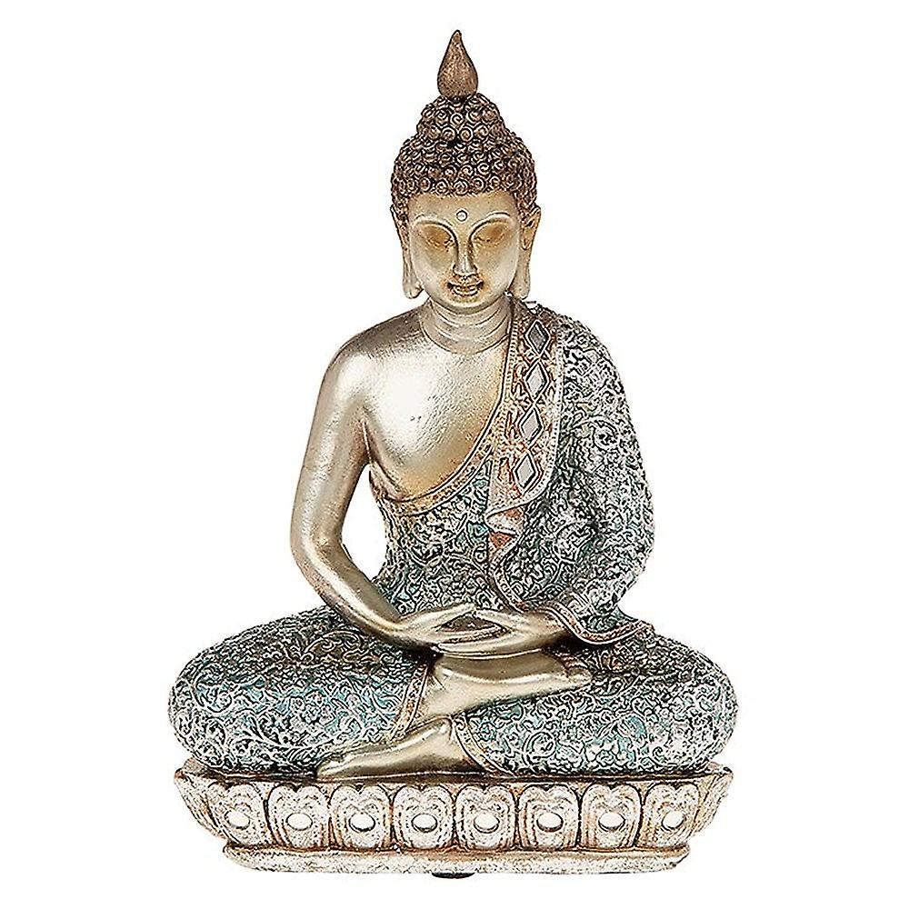 Shudehill Giftware Zen Blue Buddha Small
