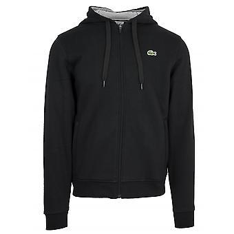 Lacoste Sport Lacoste Sport Black Hooded Sweatshirt
