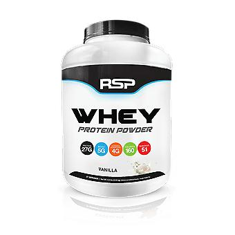 Rsp whey protein, build lean muscle, bcaas, amino acids, glutamine (vanilla, 5lb)