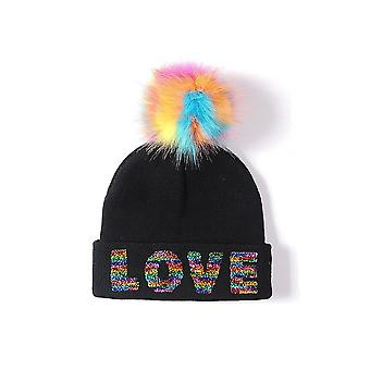 Intrigue Womens/dames Sequin Bobble Hat muts