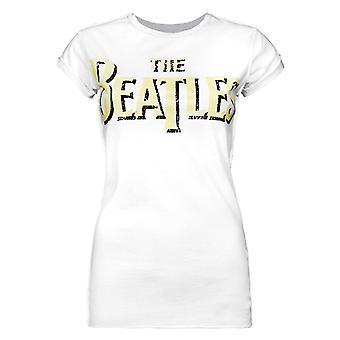 הוגבר הלוגו של הביטלס נשים ' s חולצת טי