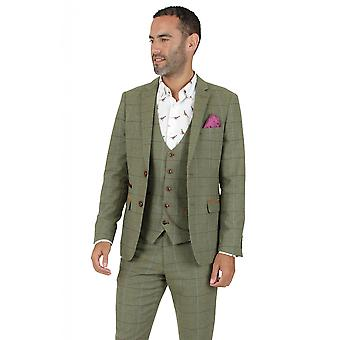 Marc Darcy Eliis Green Tweed Blazer