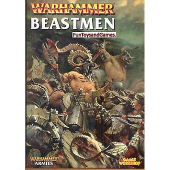 Warhammer Beastmen Army Book�