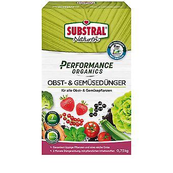 SUBSTRAL® Natural ® Performance Organics Fruit & Vegetable Fertilizer, 750 g