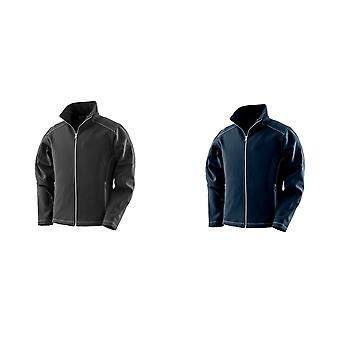 Result Work-Guard Womens/Ladies Treble Stitch Soft Shell Jacket