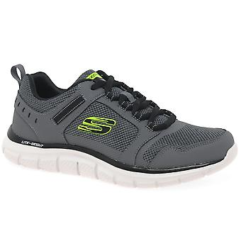 Skechers Track Knockhill Mens Sports Trainers