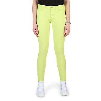 Armani Jeans Original Women Spring/Summer Trouser Green Color - 58338