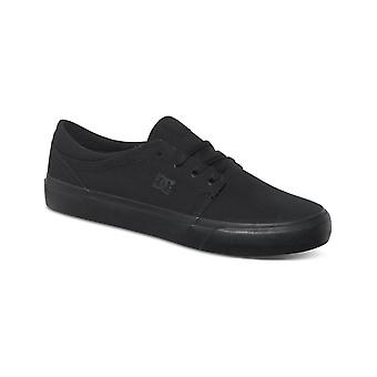 DC Trase TX Trainers in Black/Black/Black