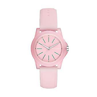 Armani Exchange Analog quartz ladies Silicone wrist watch AX4361