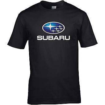 Subaru Metallic - Car Motor - DTG Printed T-Shirt
