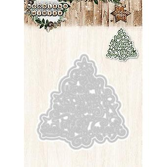 Studio Light Embossing Die Cut Stencil Woodland Winter nr 38 STENCILWW38