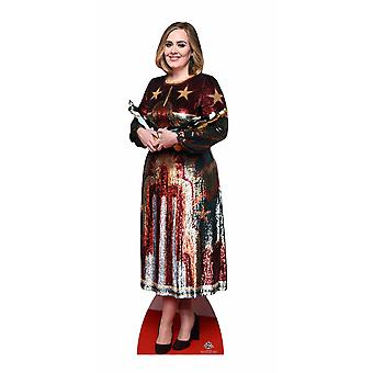 Adele Lifesize Cardboard Cutout / Standee / Stand Up