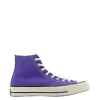 Converse 168035c621 Mulheres's Purple Cotton Hi Top Sneakers