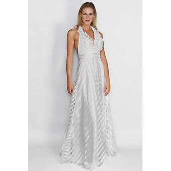 Selina fallen tauchen necline Kleid