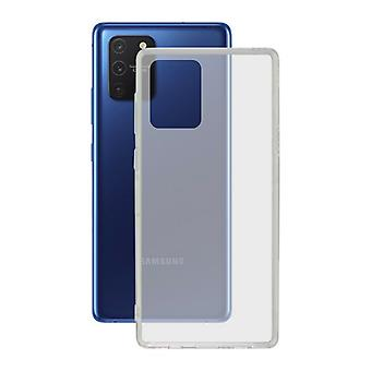Mobiele cover Samsung Galaxy A91/s10 Lite KSIX Flex TPU Transparant