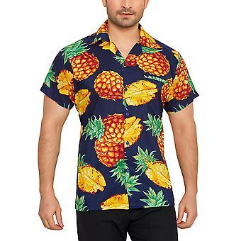 Club cubana men's regular fit classic short sleeve casual shirt ccc18