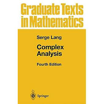 Complex Analysis by Serge Lang - 9780387985923 Book