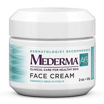 Mederma aqua glycolic face cream, 2 oz