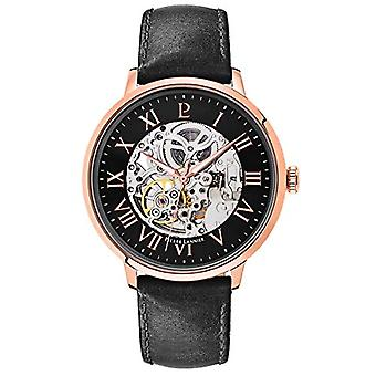 Pierre Lannier Analog automatic men's watch with leather 323B433