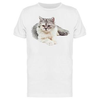 Careless Beauty Persian Cat Tee Men-apos;s -Image par Shutterstock