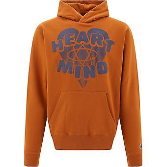 Billionaire B20254brown Men's Brown Cotton Sweatshirt