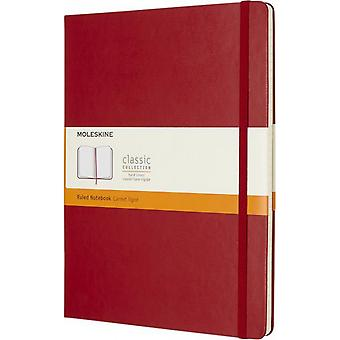 Moleskine Classic XL harde kaft geregeerd notebook