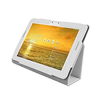 PU Leather Case Cover for Asus Transformer Pad TF303 TF303CL[White]