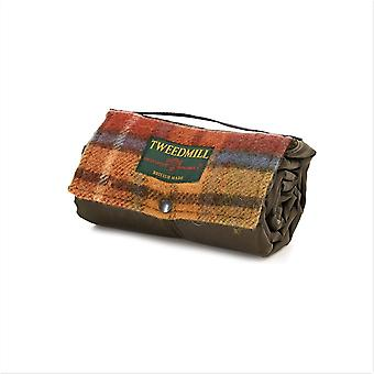 Tweedmill Walker Compagno Picnic Rug con Impermeabile Backing - Antiquariato Buchanan