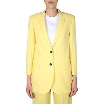 Ps By Paul Smith W2r108jbb3040830 Women's Yellow Wool Blazer