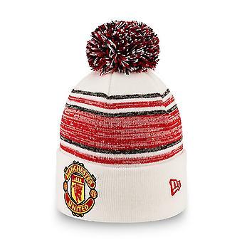 Novo era Bommel Beanie KIDS chapéu - Manchester United branco