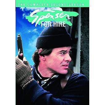 Spenser Alquiler: importación de Estados Unidos la segunda temporada completa [DVD]