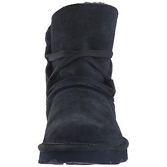 Bearpaw Womens Zora Suede closed toe enkel koud weer laarzen