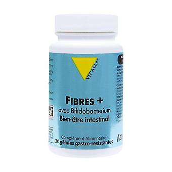 Fibrer Plus Bio med Bifidobacterium 30 grönsakskapslar