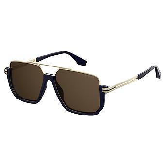 Marc Jacobs Marc 413/S PJP/70 Blue/Brown Sunglasses