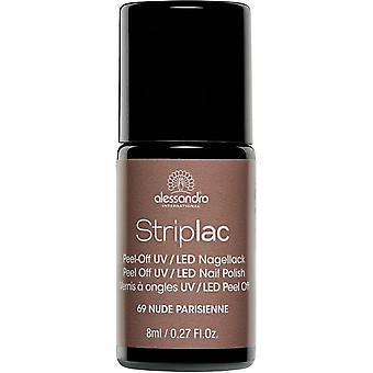 StripLAC Peel Off UV LED Nail Polish - Nude Parisienne 8ml (69)