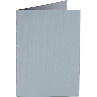 Papicolor 6X Tarjeta Doble A6 105x148 mm Cloud-Grey