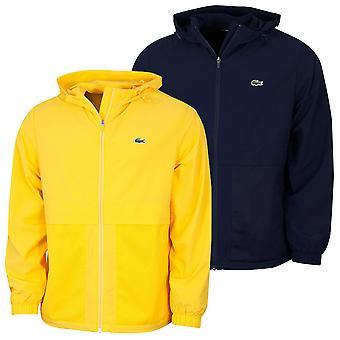 Lacoste Mens Sport Hooded Taffeta-lined Windbreaker Jas