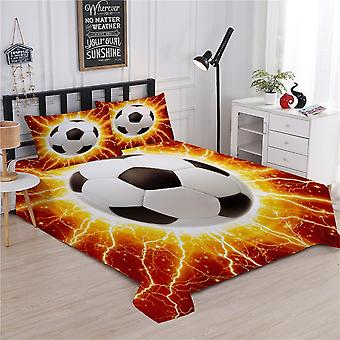 Luxury Lightning Football Duvet Cover Bedding Sets