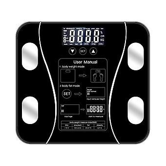 Body Fat Scale Floor Scientific Smart Electronic LED -Digital Weight Bathroom Balance Bluetooth APP Android nebo IOS