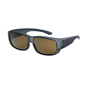 Sunglasses Unisex grey with brown lens Vz0009lv